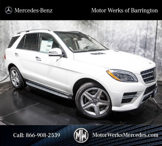 New 2015 Mercedes Benz M Class Ml400 Sport Utility Near