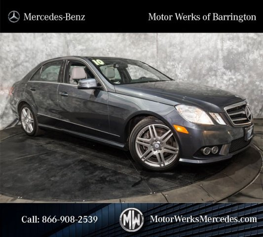 Used Mercedes-Benz E-Class E350 4MATIC Sport With Navigation