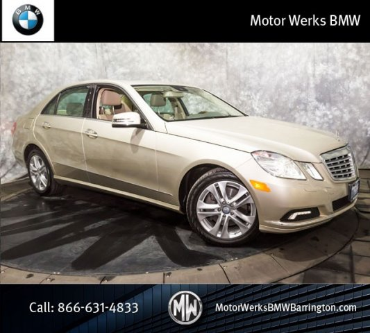 Used Mercedes-Benz E-Class E350 4MATIC With Navigation