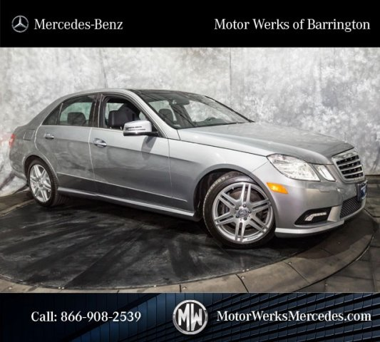 Used Mercedes-Benz E-Class E350 4MATIC Sport With Navigation & Panorama Sunroof