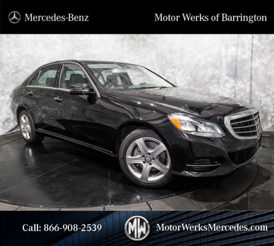 New 2016 Mercedes Benz E Class E350 4matic 4dr Car Near